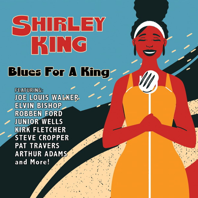 shirley king album - Shirley King - Blues For A King (Album Review)