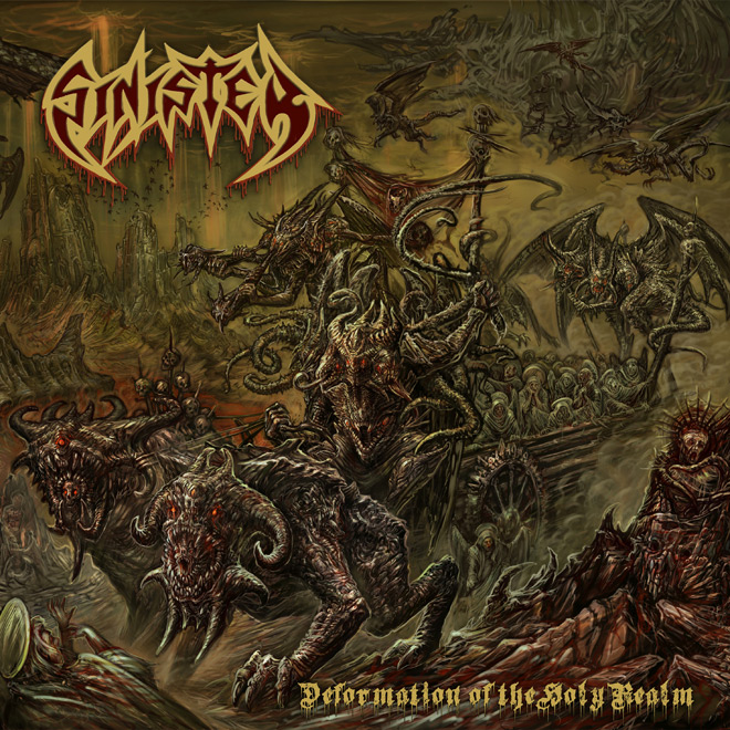 sinister 2020 - Sinister - Deformation of the Holy Realm (Album Review)