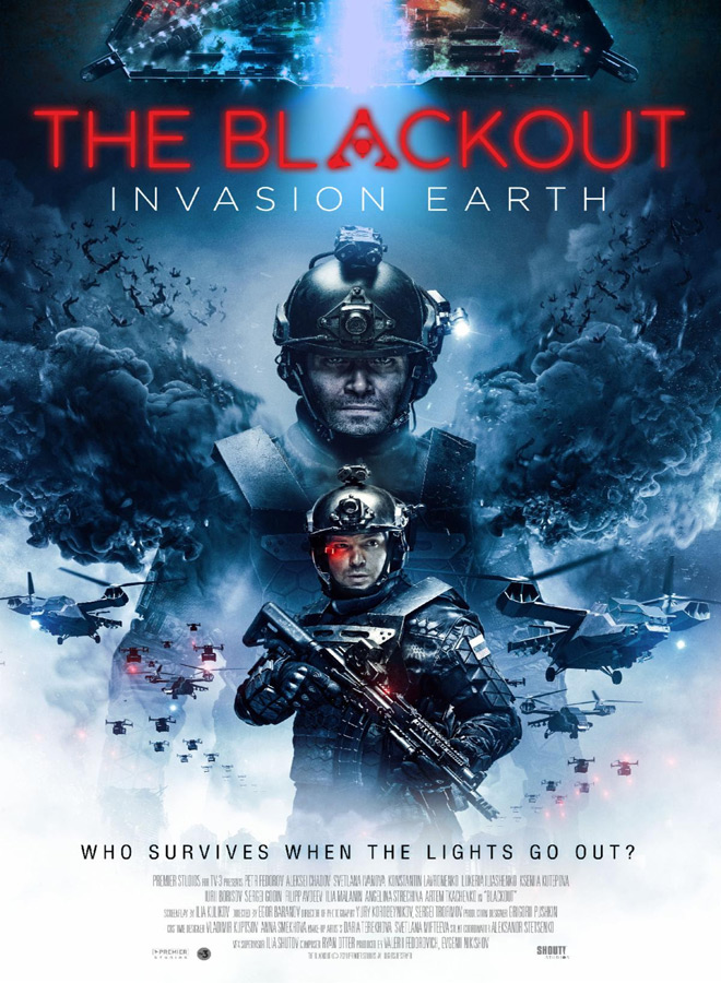 the blackout poster - The Blackout: Invasion Earth (Movie Review)