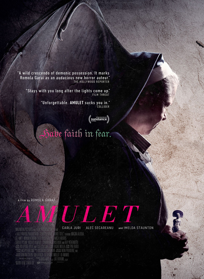 amulet poster - Amulet (Movie Review)