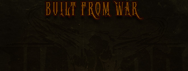 built from slide - Upon A Burning Body - Built From War (EP Review)