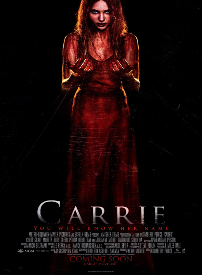 carrie 2013 poster - The Anatomy of a Remake - Carrie