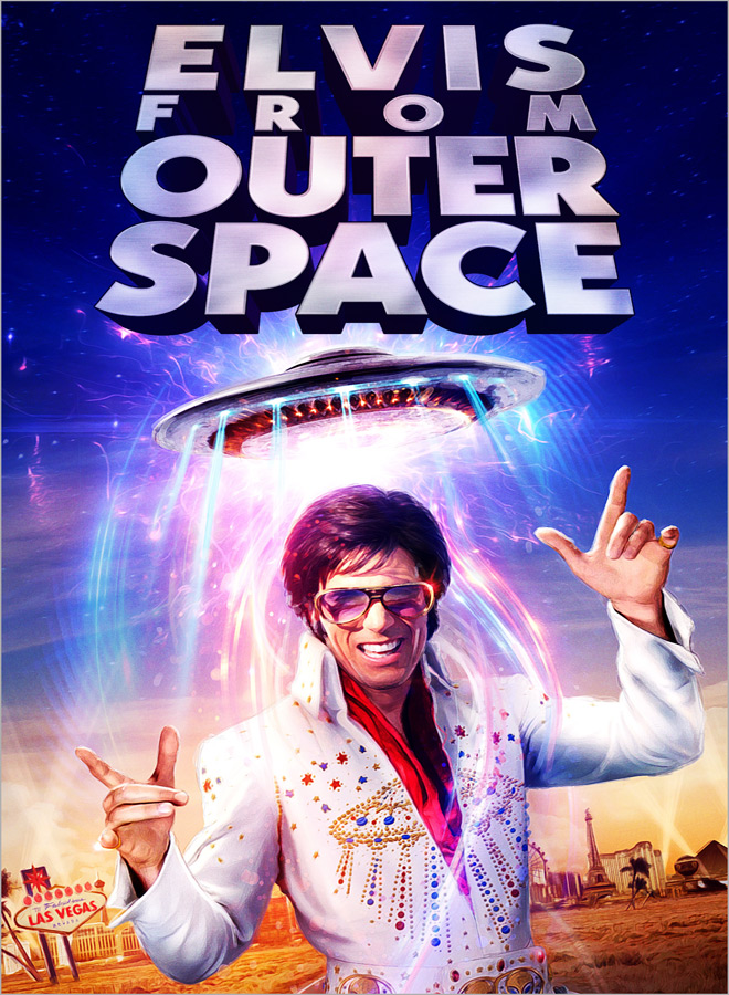elvis from poster - Elvis From Outer Space (Movie Review)