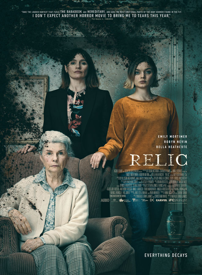 relic poster - Relic (Movie Review)