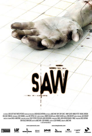 saw movie poster - Interview - Grayson Hurd of Lightworker