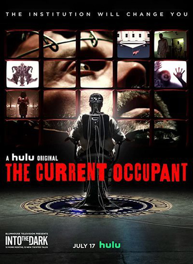 the current occupant poster - Into the Dark: The Current Occupant (Movie Review)