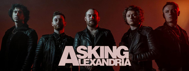 asking alexandria interview 2020 - Interview - James Cassells of Asking Alexandria Discusses Like A House On Fire