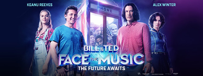 bill n ted slide - Bill & Ted Face the Music (Movie Review)