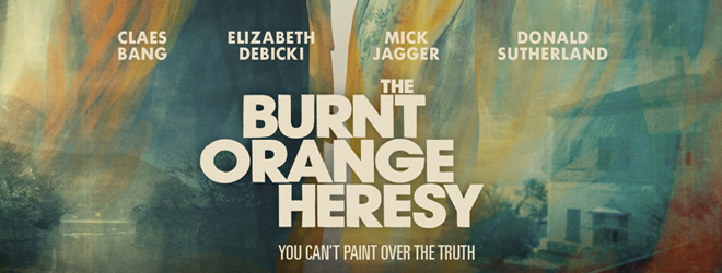 burnt slide - The Burnt Orange Heresy (Movie Review)