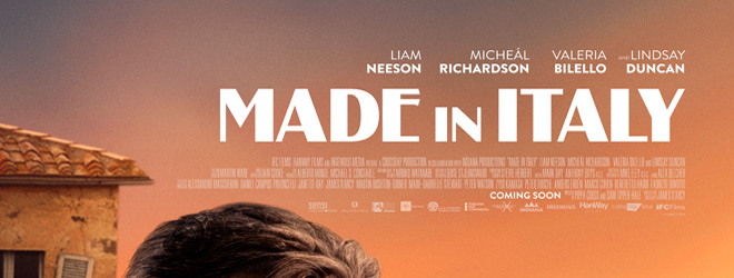 made in italy slide - Made in Italy (Movie Review)