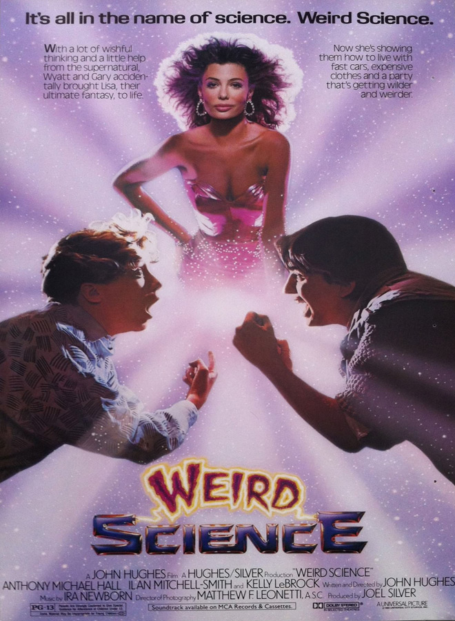 weird science poster - Weird Science - 35 Years of Fantasy