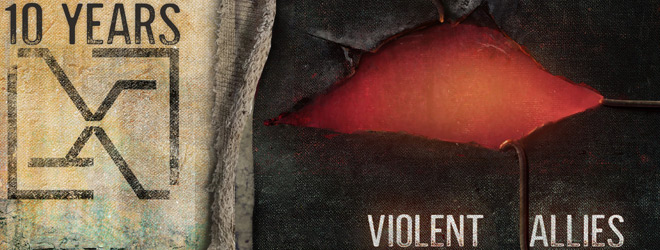 10 years violent allies slide - 10 Years - Violent Allies (Album Review)
