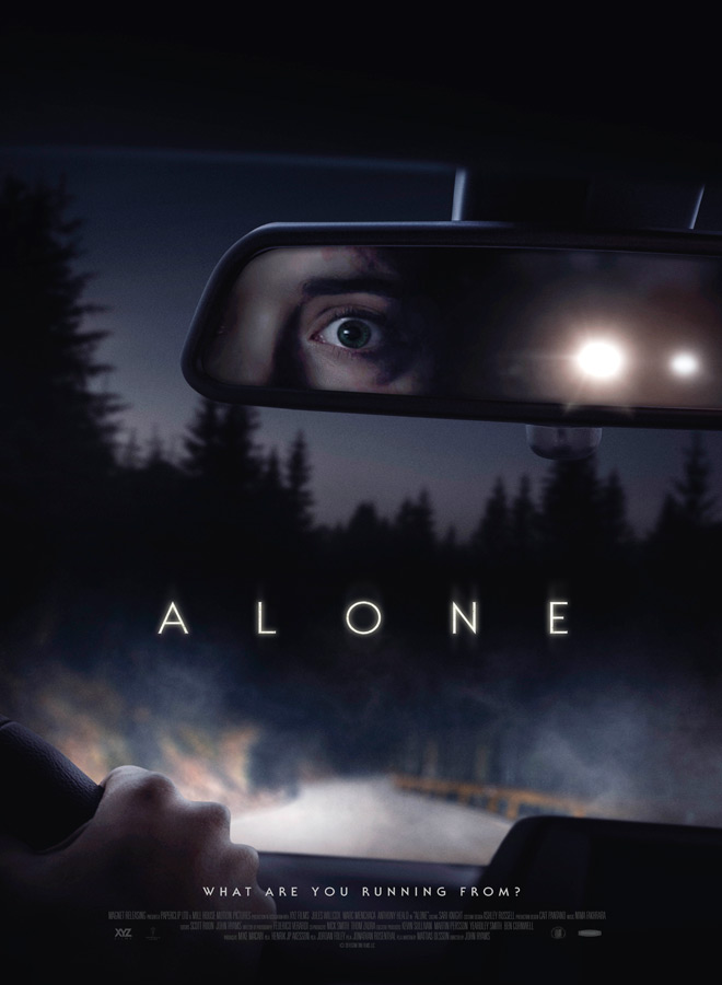 alone poster - Alone (Movie Review)