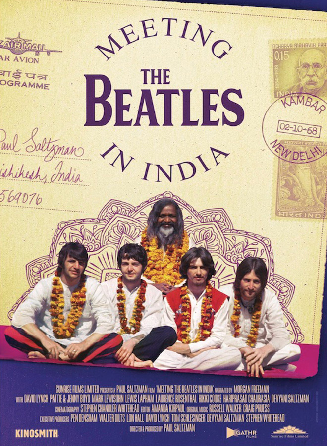 meeting the beatles in india poster - Meeting the Beatles in India (Documentary Review)