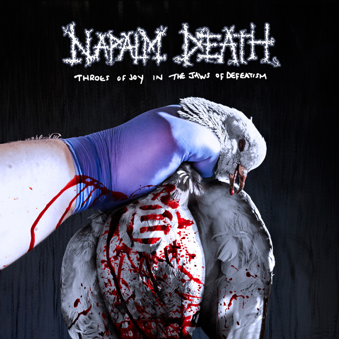 napalm death album - Napalm Death - Throes of Joy In the Jaws of Defeatism (Album Review)